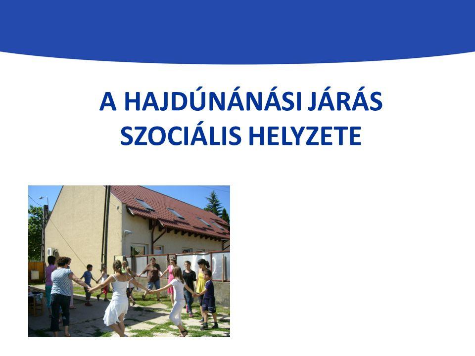 A HAJDÚNÁNÁSI JÁRÁS SZOCIÁLIS HELYZETE