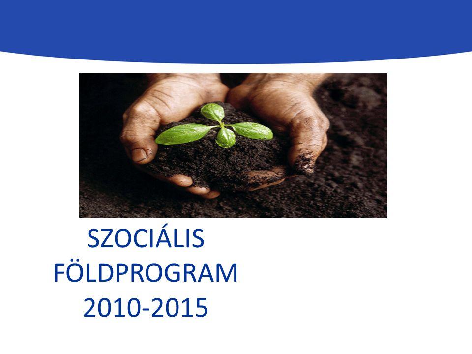 SZOCIÁLIS FÖLDPROGRAM 2010-2015