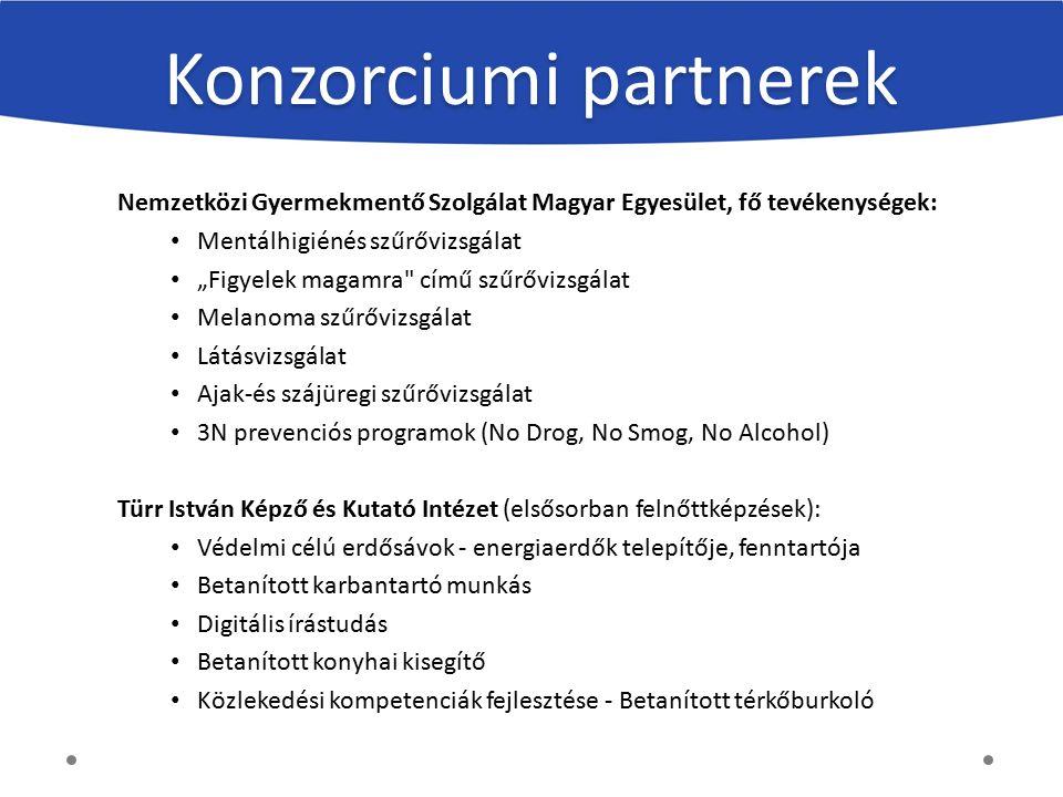 """Nemzetközi Gyermekmentő Szolgálat Magyar Egyesület, fő tevékenységek: Mentálhigiénés szűrővizsgálat """"Figyelek magamra"""