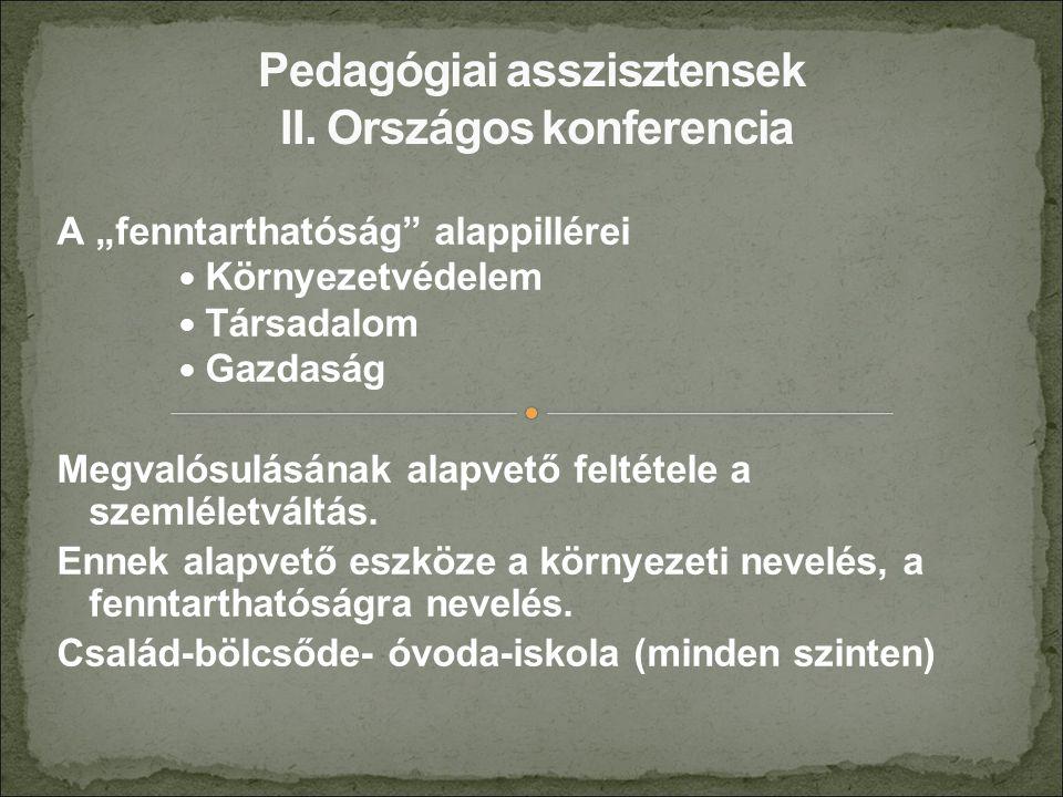 II.Gyermekkép, óvodakép II.1.