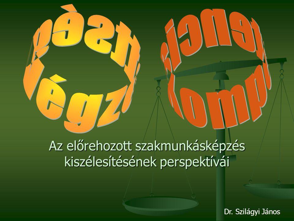 Az előrehozott szakmunkásképzés kiszélesítésének perspektívái Dr. Szilágyi János