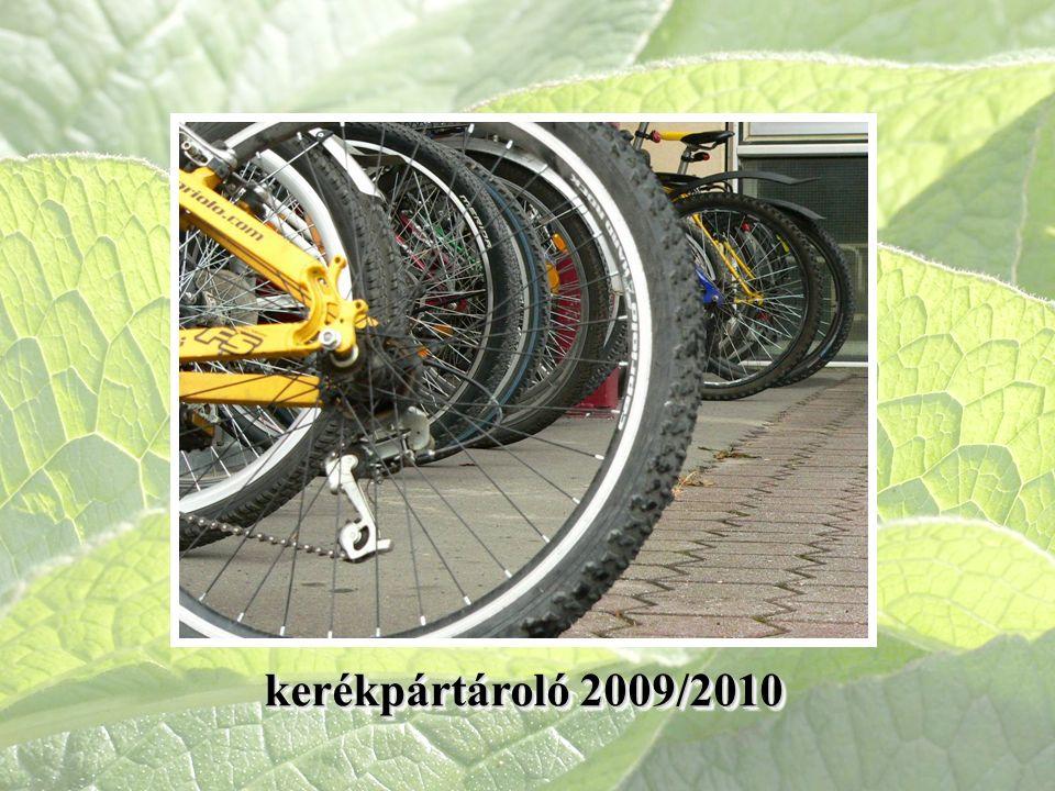 kerékpártároló 2009/2010