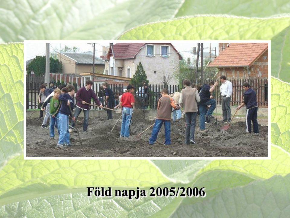 Föld napja 2005/2006