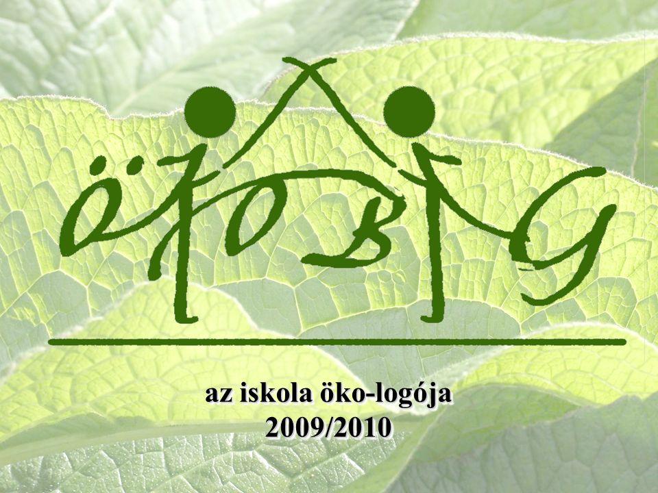 az iskola öko-logója 2009/2010 2009/2010