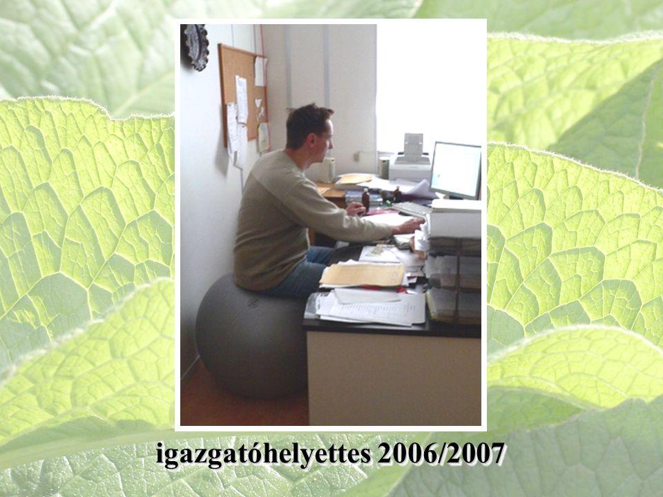 igazgatóhelyettes 2006/2007