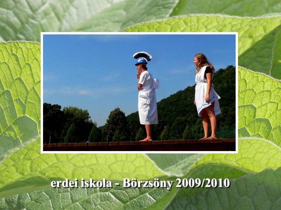 erdei iskola - Börzsöny 2009/2010