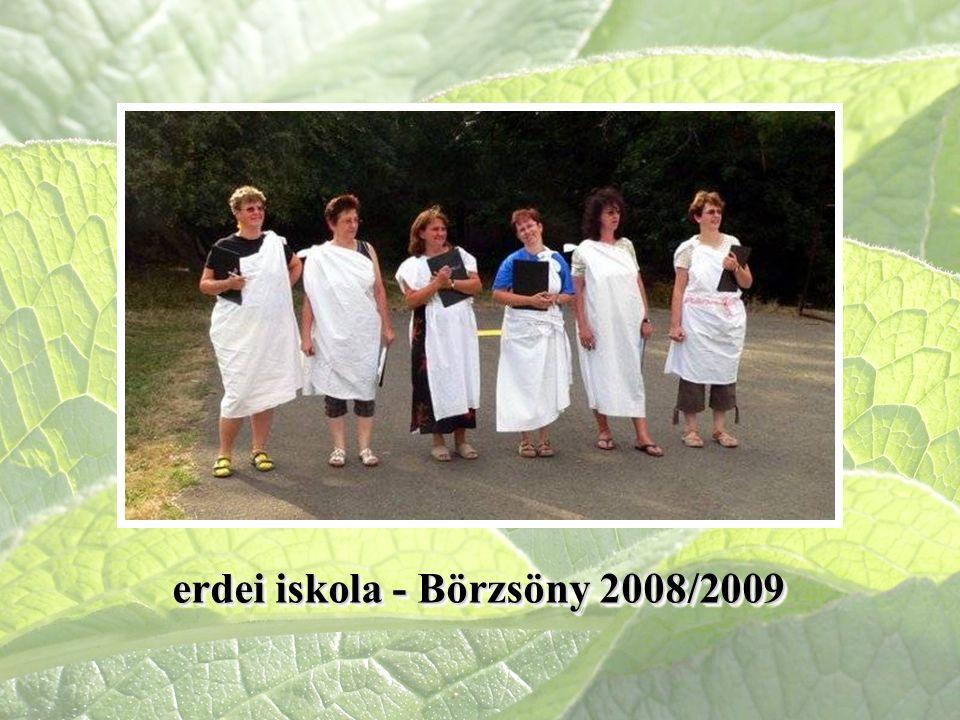 erdei iskola - Börzsöny 2008/2009