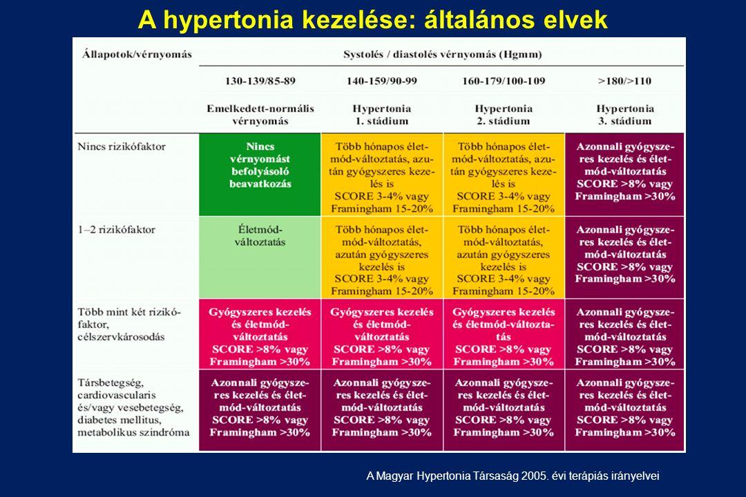 A hypertonia kezelése: általános elvek A Magyar Hypertonia Társaság 2005. évi terápiás irányelvei