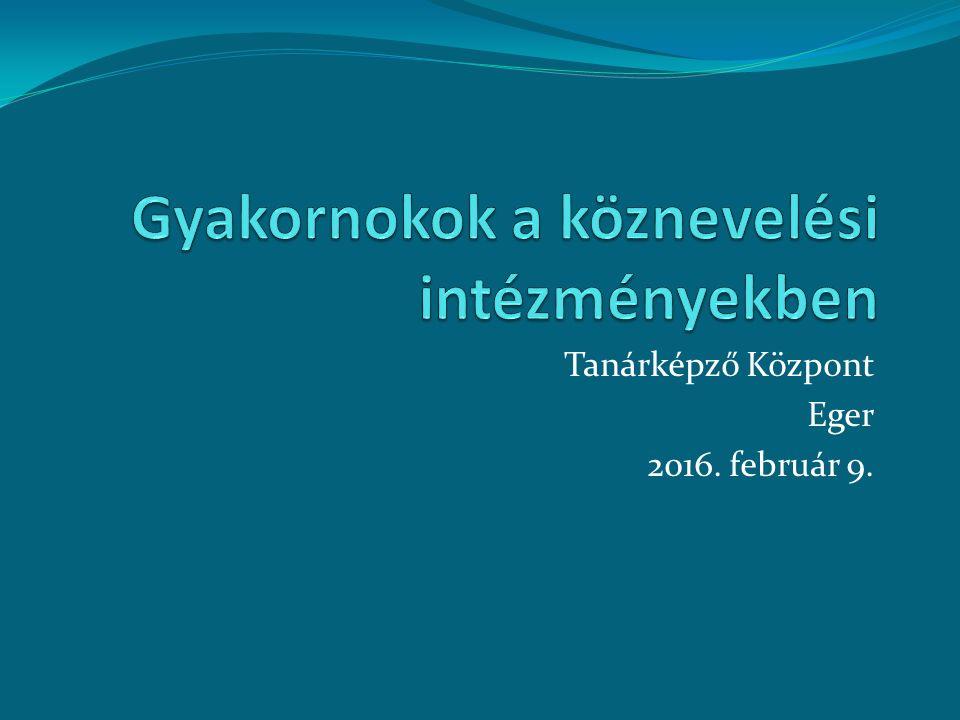 Ki a gyakornok.326/2013. (VIII. 30.) Korm.