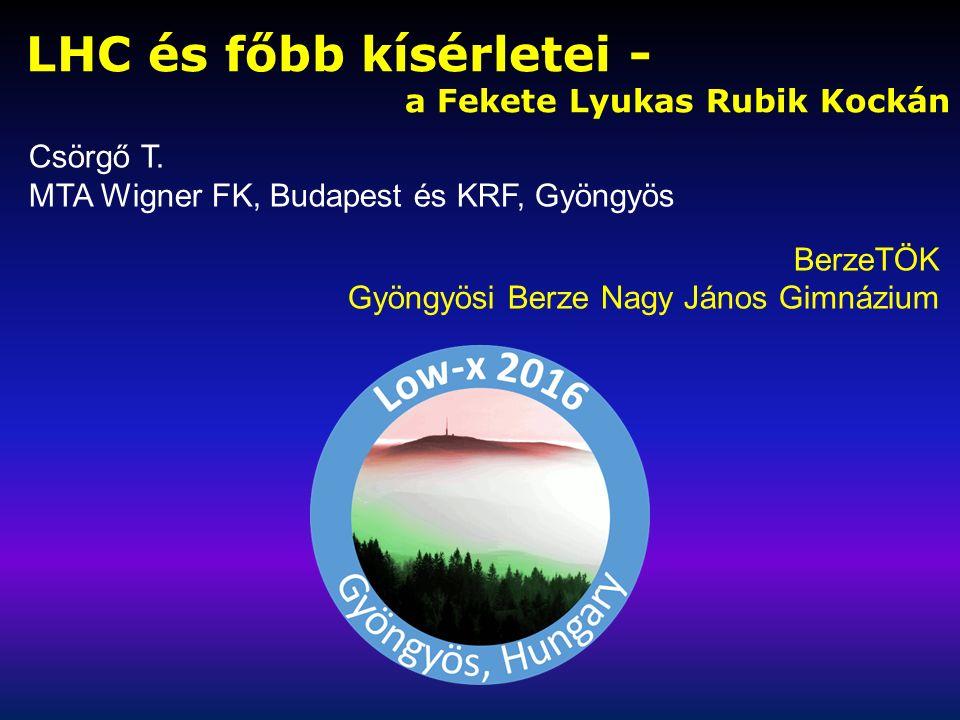 RÉSZECSKÉS JÁTÉKOK – DIÁK ÖTLETBŐL 2011: Az első négy Részecskés Kártyajáték Török Csaba, Csörgő Judit, Cs.T., BerzeTÖK, Gyöngyös 1.
