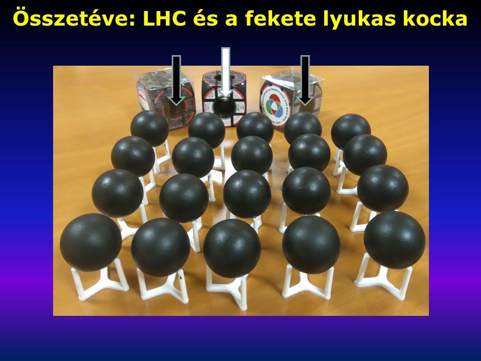 Összetéve: LHC és a fekete lyukas kocka
