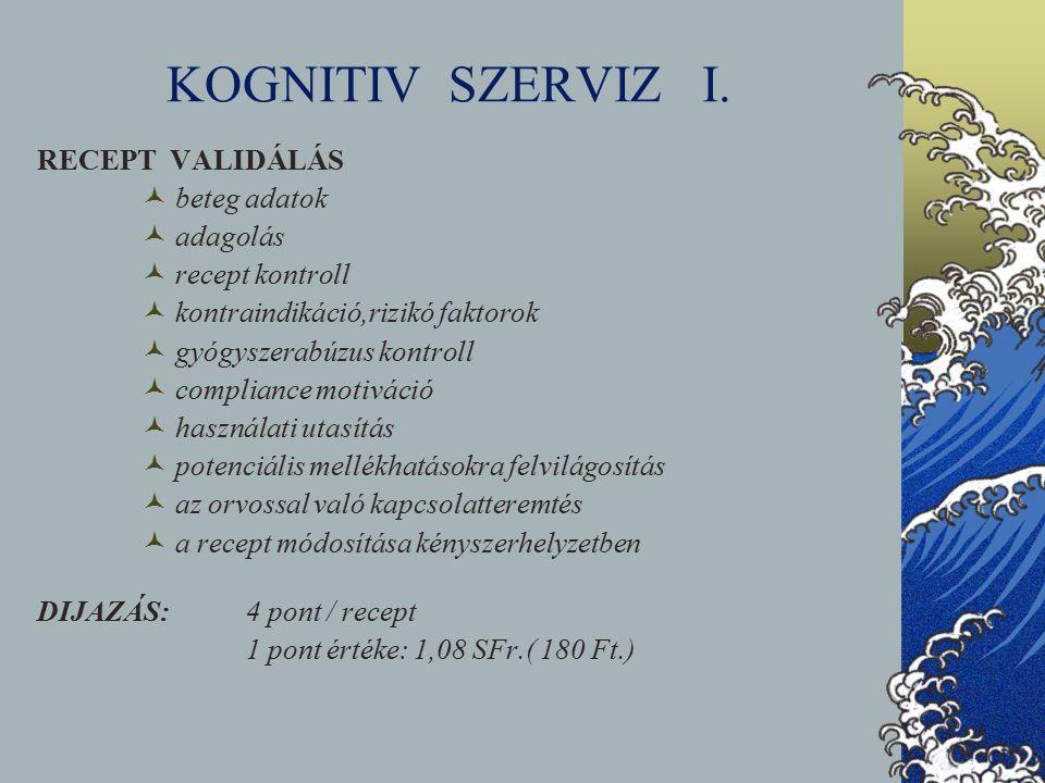 KOGNITIV SZERVIZ I.
