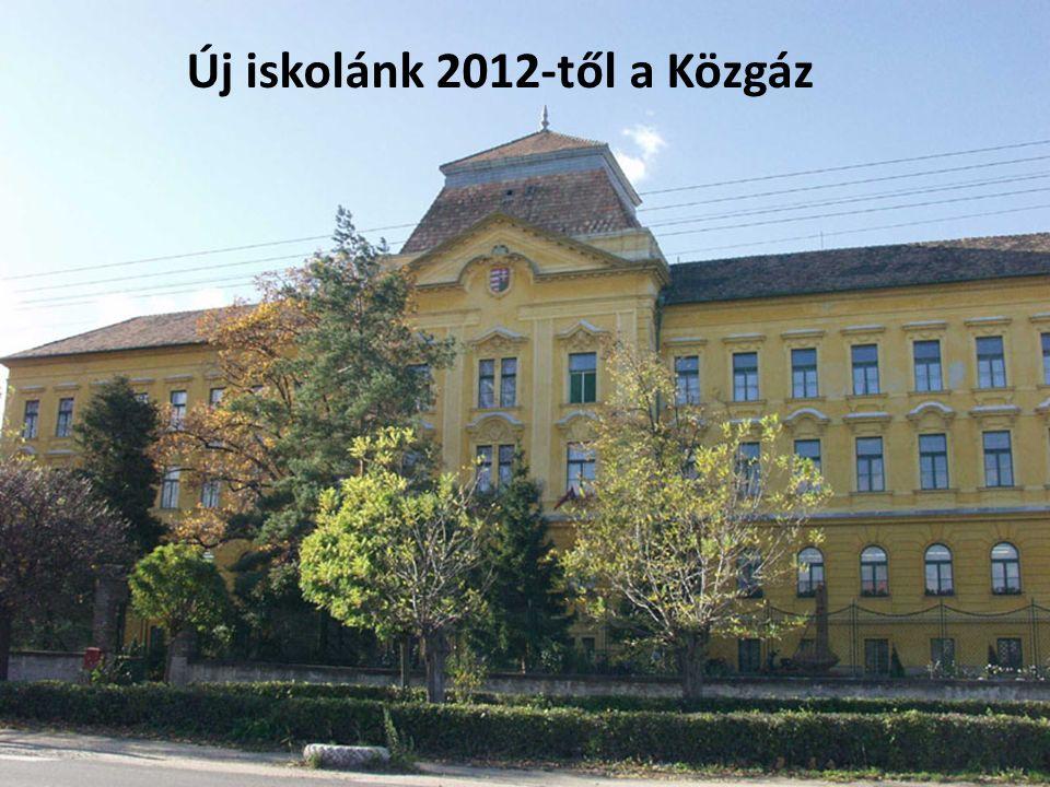 Új iskolánk 2012-től a Közgáz