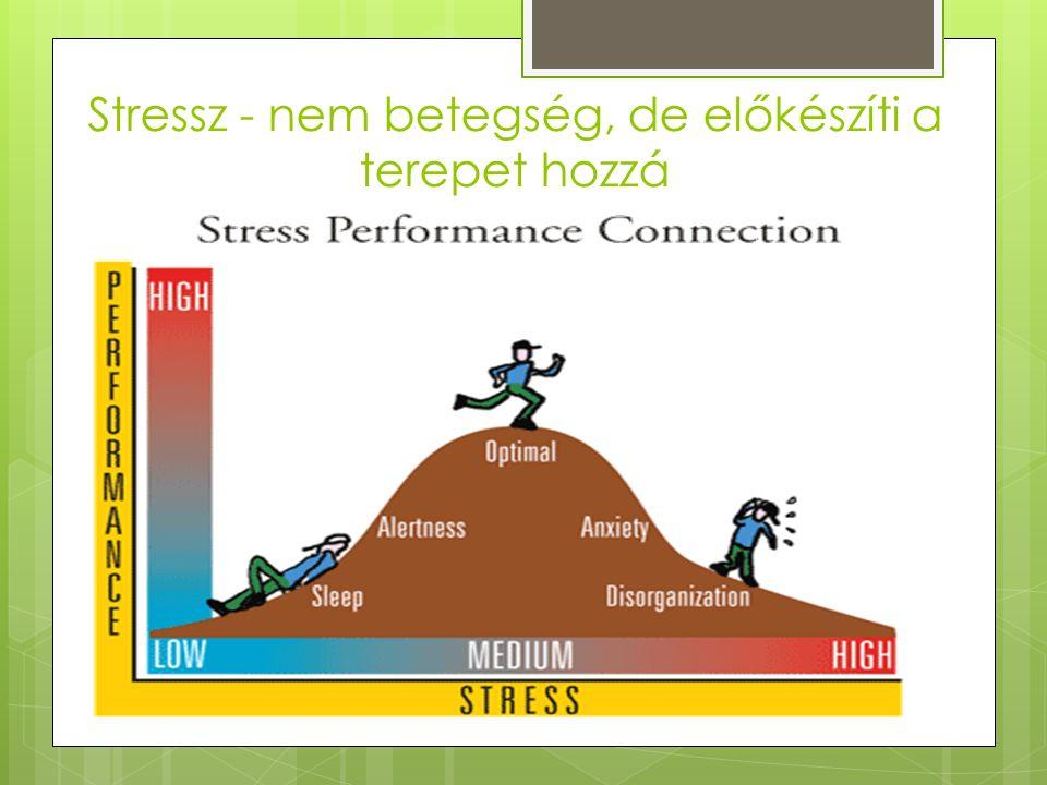 Stressz - nem betegség, de előkészíti a terepet hozzá