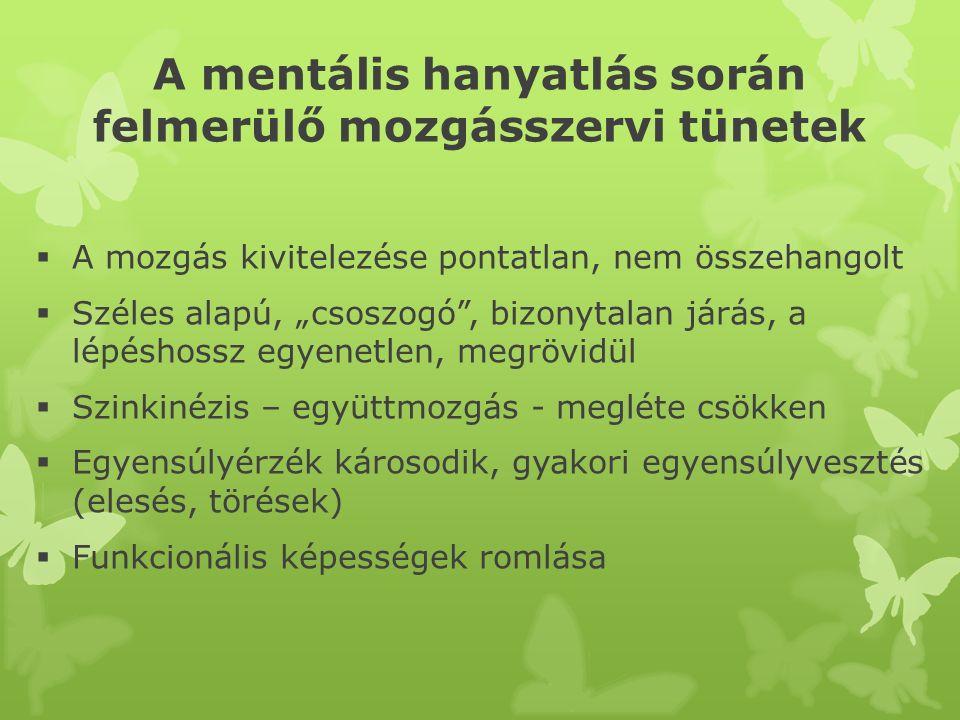 Mozgásszervi tünetek II.