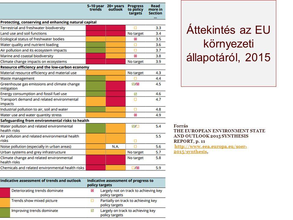 Az Unió hatodik közösségi környezetvédelmi cselekvési programjának (2002 - 2012) értékelése (COM(2011) 531 végleges, 2011.