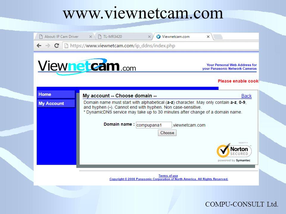 COMPU-CONSULT Ltd. www.viewnetcam.com