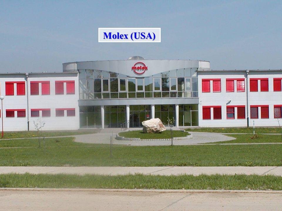 U.S. Steel U.S.Steel, s.r.o (USA) - KassaU.S.Steel, s.r.o (USA) - Kassa MOLEX, s.a. (USA,FRANCIA) - Kechnec, KassaMOLEX, s.a. (USA,FRANCIA) - Kechnec,
