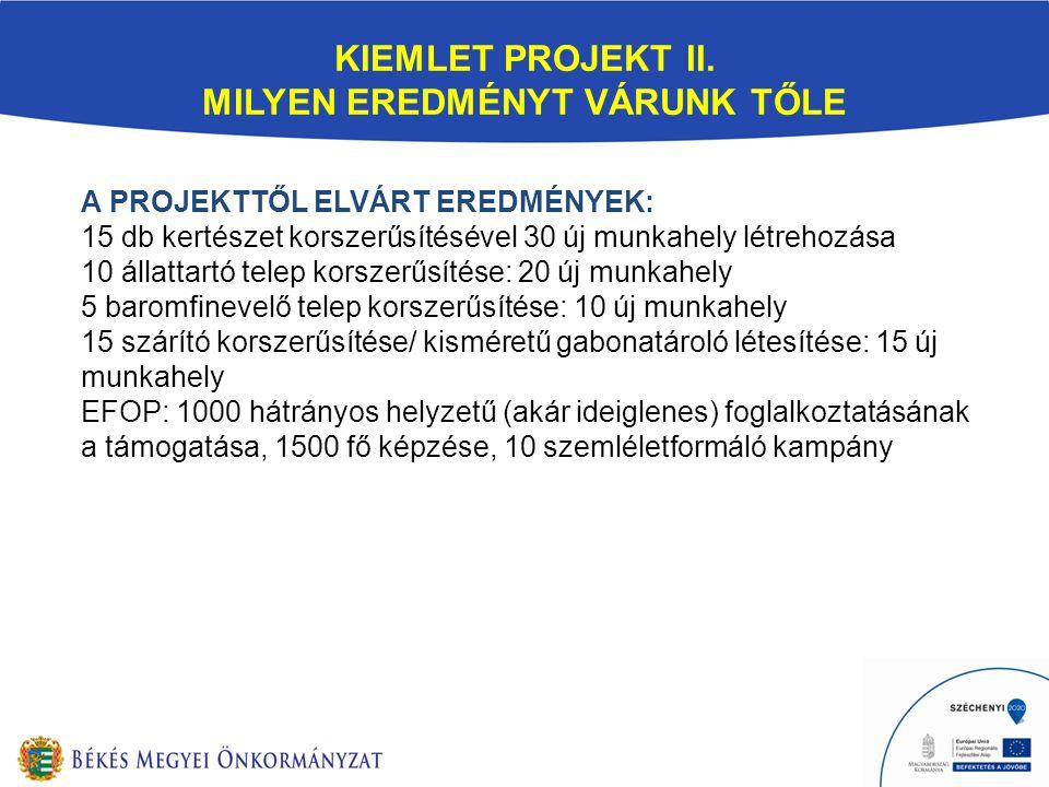 KIEMLET PROJEKT II.