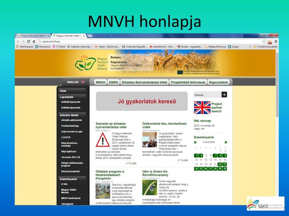 MNVH honlapja
