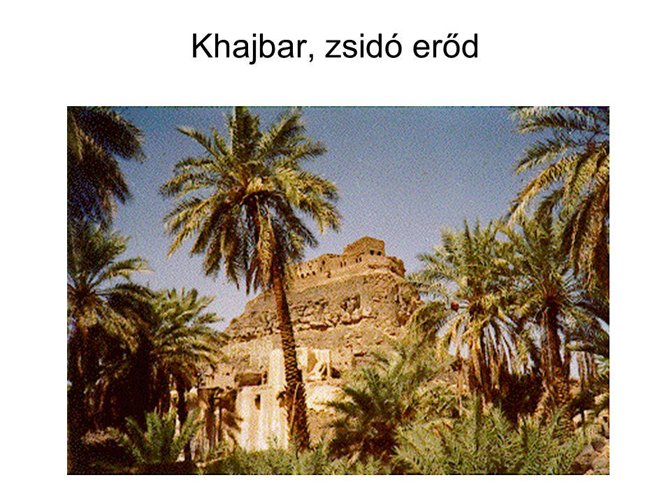 Khajbar, zsidó erőd