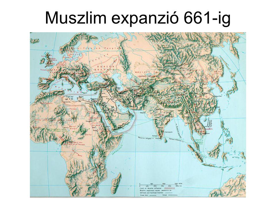 Muszlim expanzió 661-ig