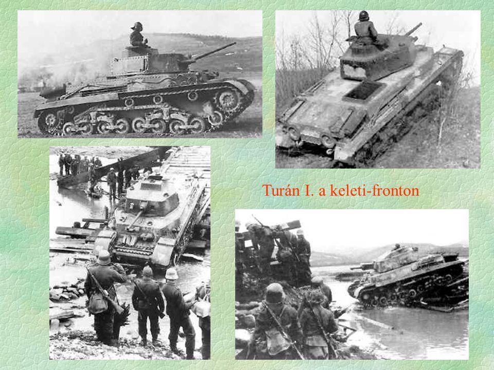 Turán I. a keleti-fronton