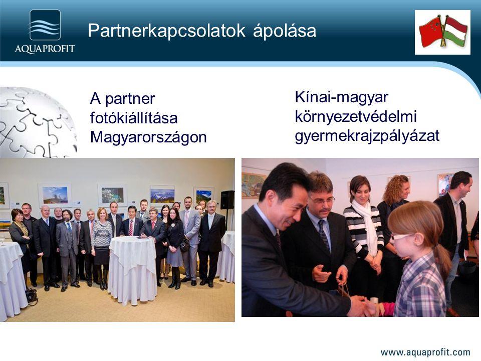 Partnerkapcsolatok ápolása A partner fotókiállítása Magyarországon Kínai-magyar környezetvédelmi gyermekrajzpályázat