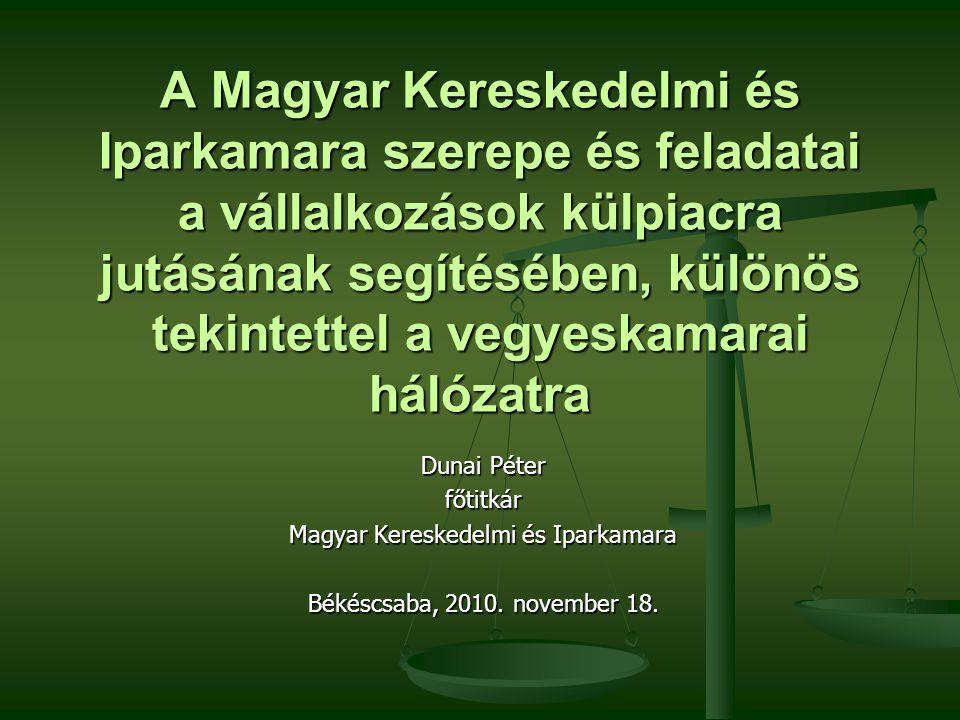 Köszönöm a figyelmet! www.mkik.hu