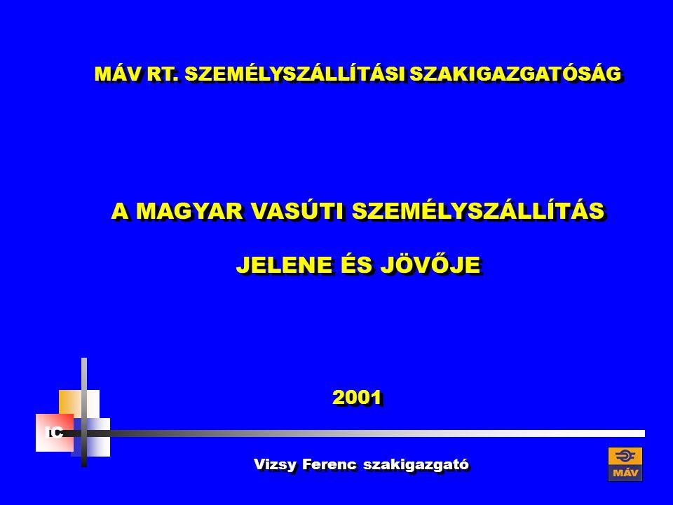 IC Vizsy Ferenc szakigazgató MÁV RT.