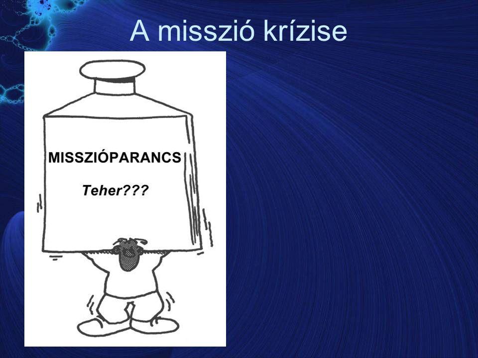 A misszió krízise