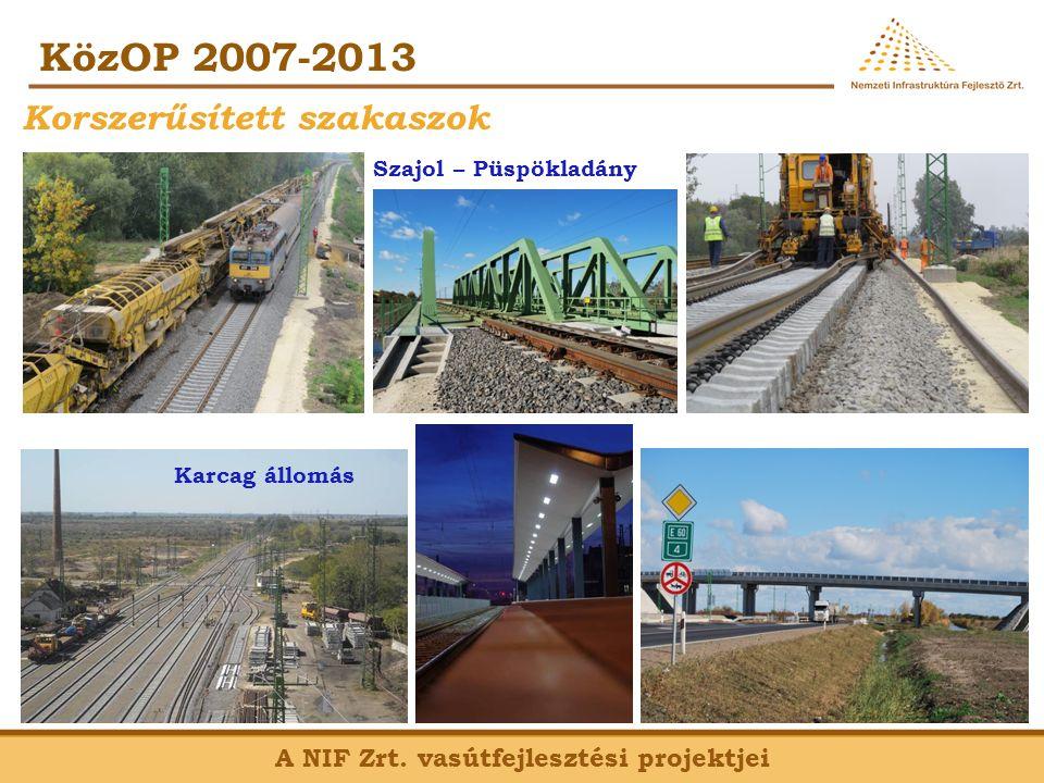 KözOP 2007-2013 A NIF Zrt.