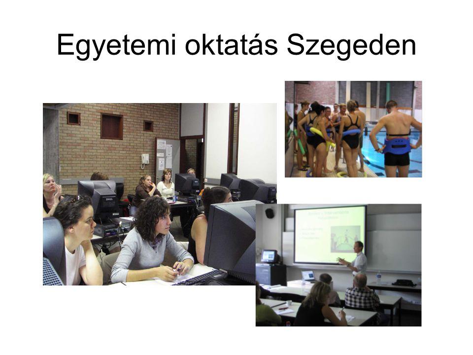 Egyetemi oktatás Szegeden