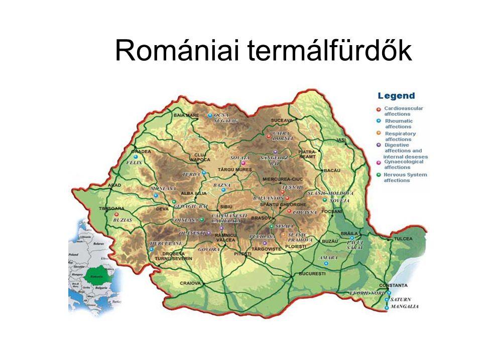 Romániai termálfürdők