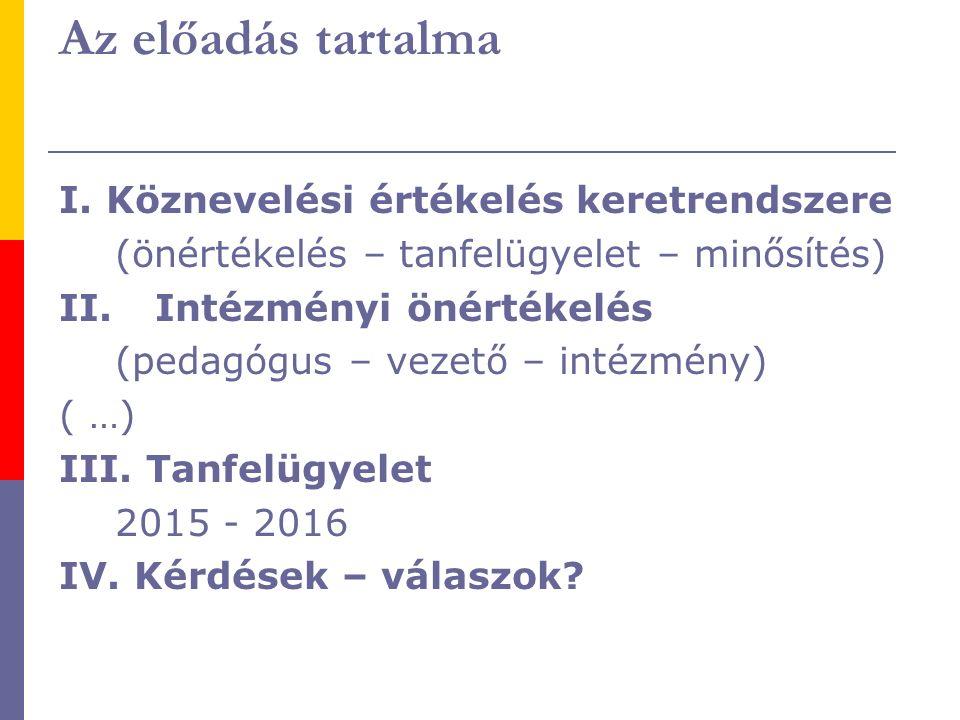 Az önértékelési csoport HOGYAN, MI ALAPJÁN.