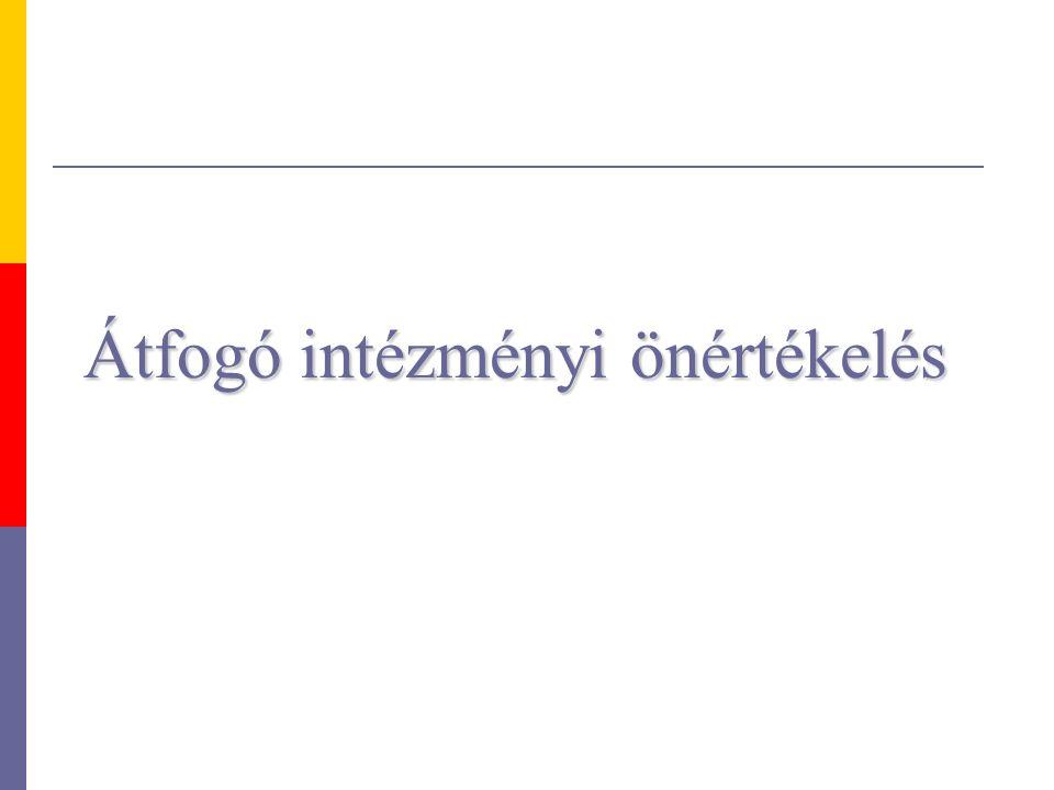 Az intézményi elvárásrendszer Lehetséges forgatókönyv 4.
