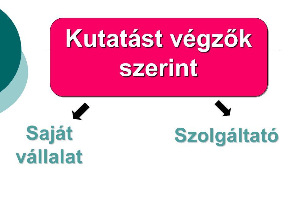 Skálatípusok szerinti csoportosítás Metrikus Intervallum skála Arányskála