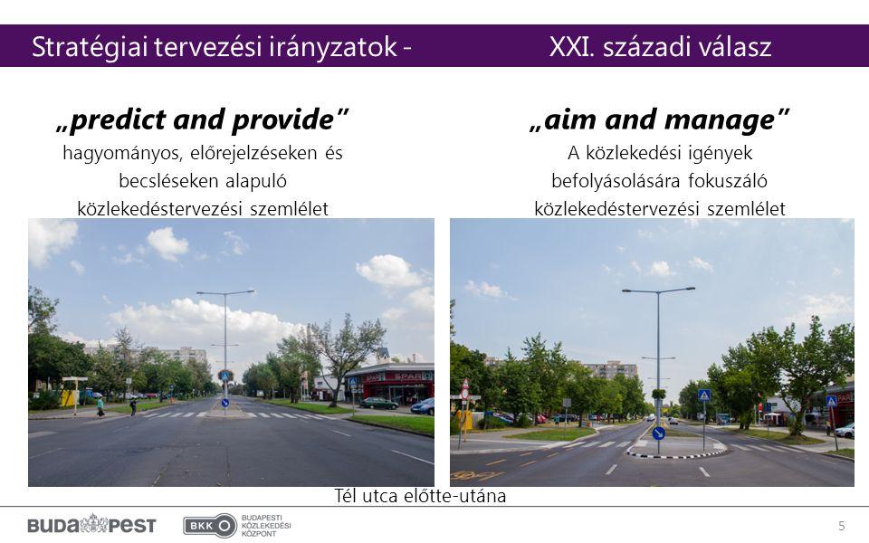 """5 """"predict and provide hagyományos, előrejelzéseken és becsléseken alapuló közlekedéstervezési szemlélet Stratégiai tervezési irányzatok - XXI."""