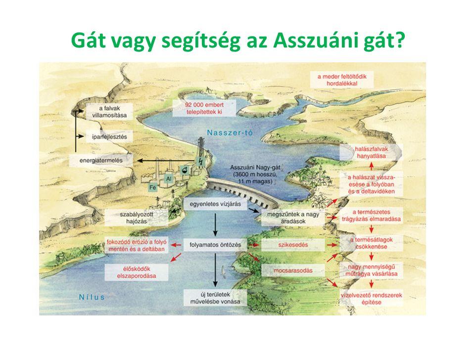 Gát vagy segítség az Asszuáni gát?