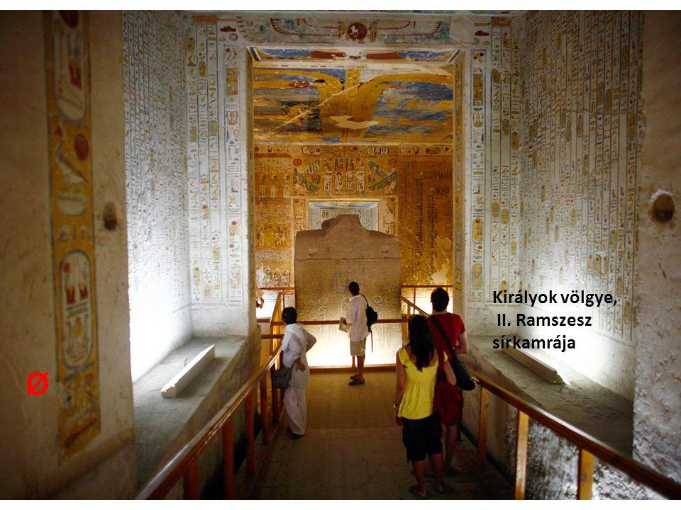Királyok völgye, II. Ramszesz sírkamrája Ø
