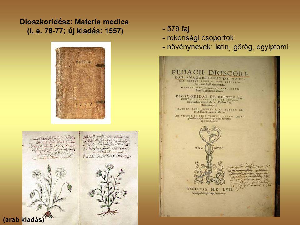 Dioszkoridész: Materia medica (i. e.