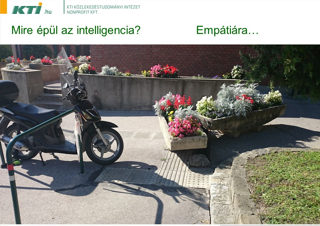 Mire épül az intelligencia Empátiára…