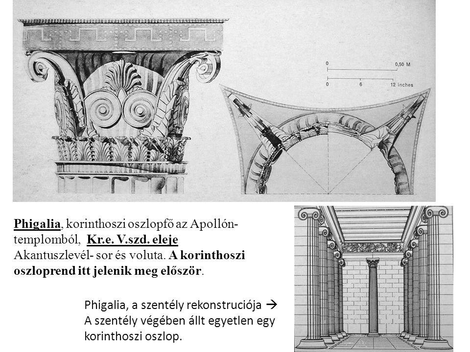 Phigalia, korinthoszi oszlopfő az Apollón- templomból, Kr.e.