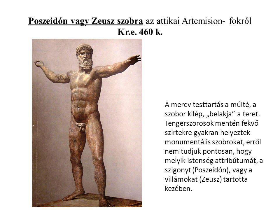Poszeidón vagy Zeusz szobra az attikai Artemision- fokról Kr.e.