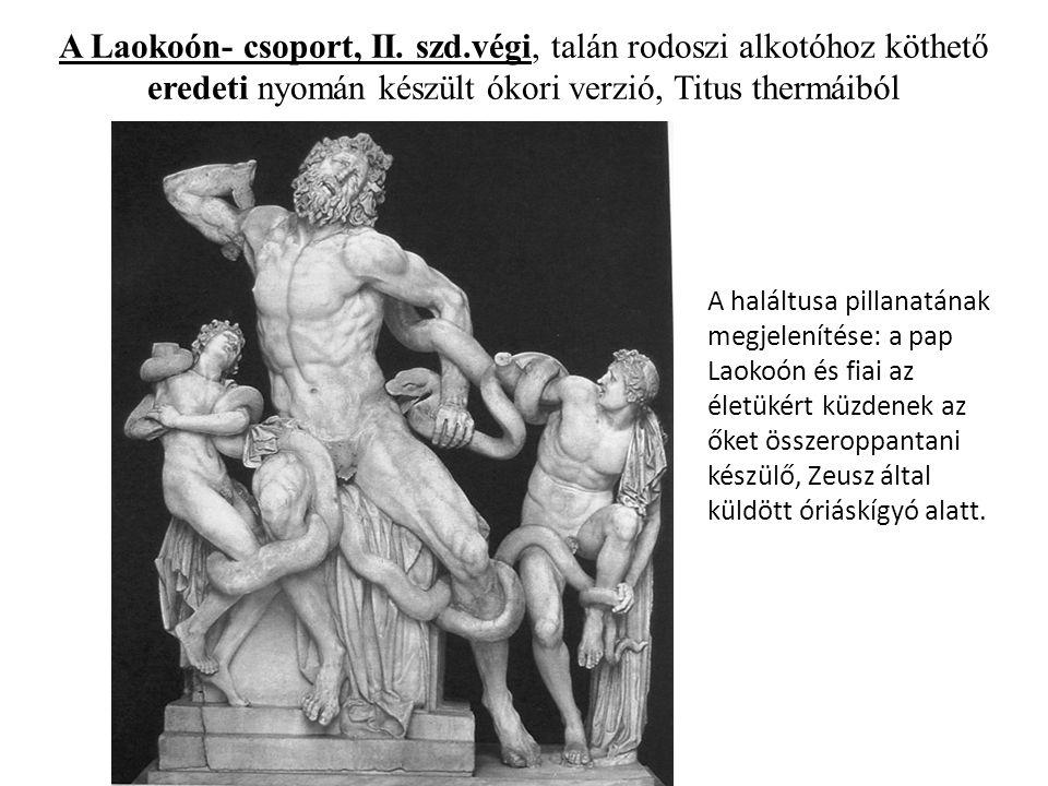 A Laokoón- csoport, II.