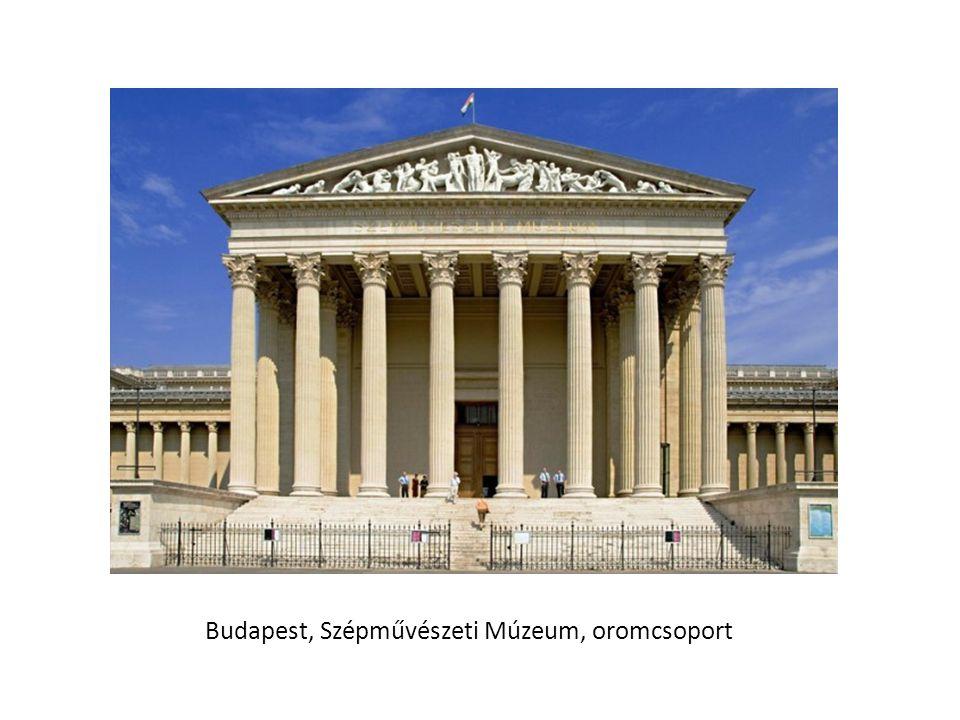 Budapest, Szépművészeti Múzeum, oromcsoport