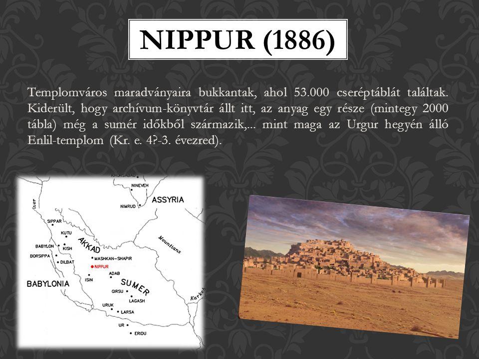 Templomváros maradványaira bukkantak, ahol 53.000 cseréptáblát találtak.