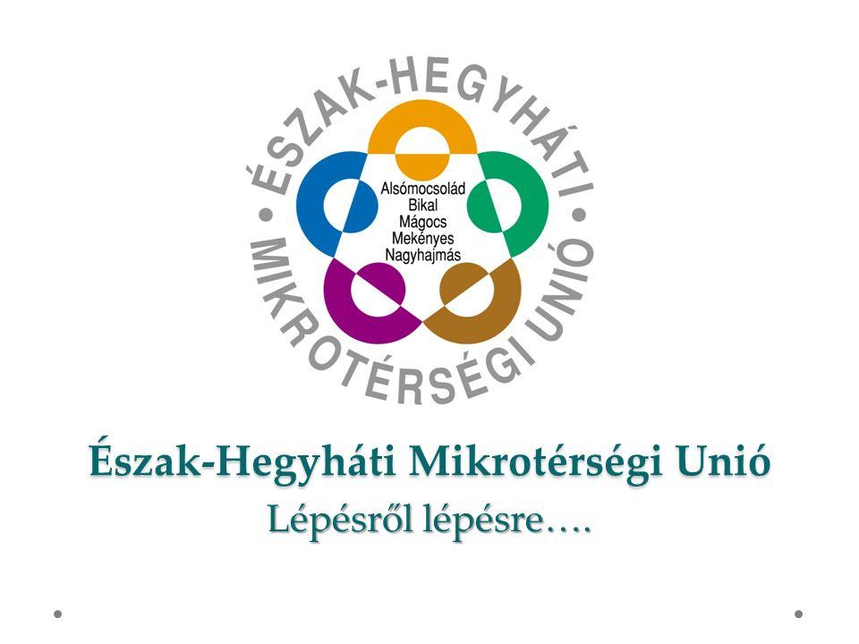 Észak-Hegyháti Mikrotérségi Unió Lépésrőllépésre…. Lépésről lépésre….