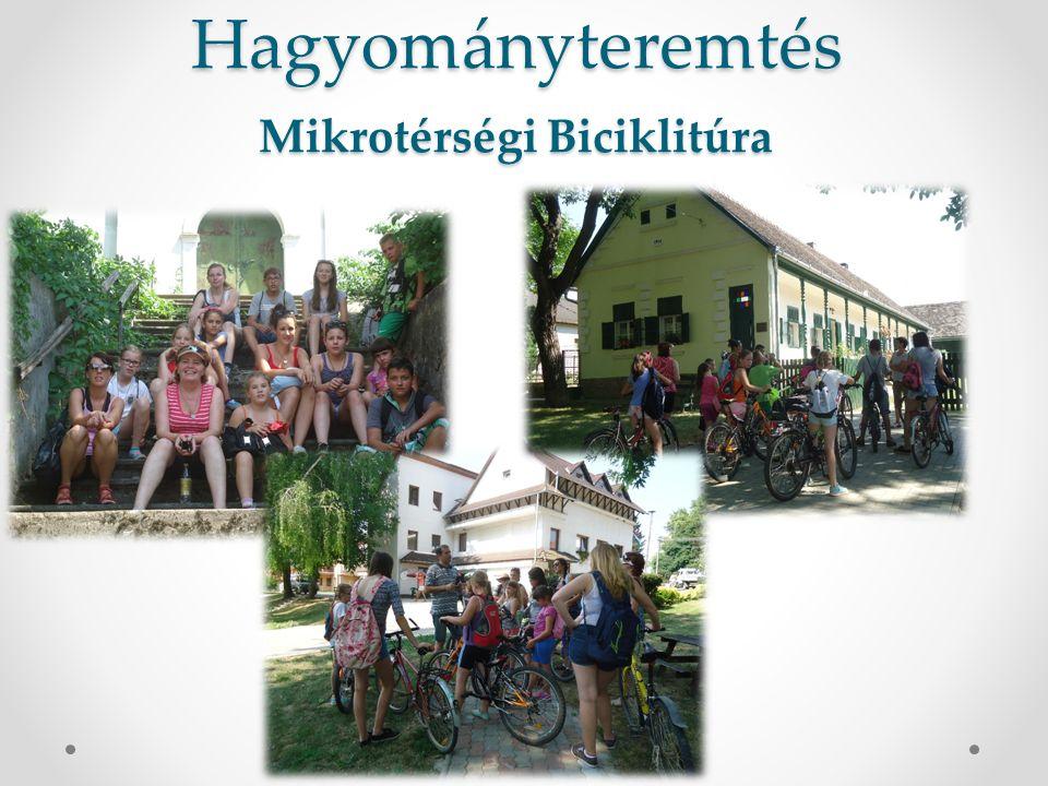 Hagyományteremtés Mikrotérségi Biciklitúra