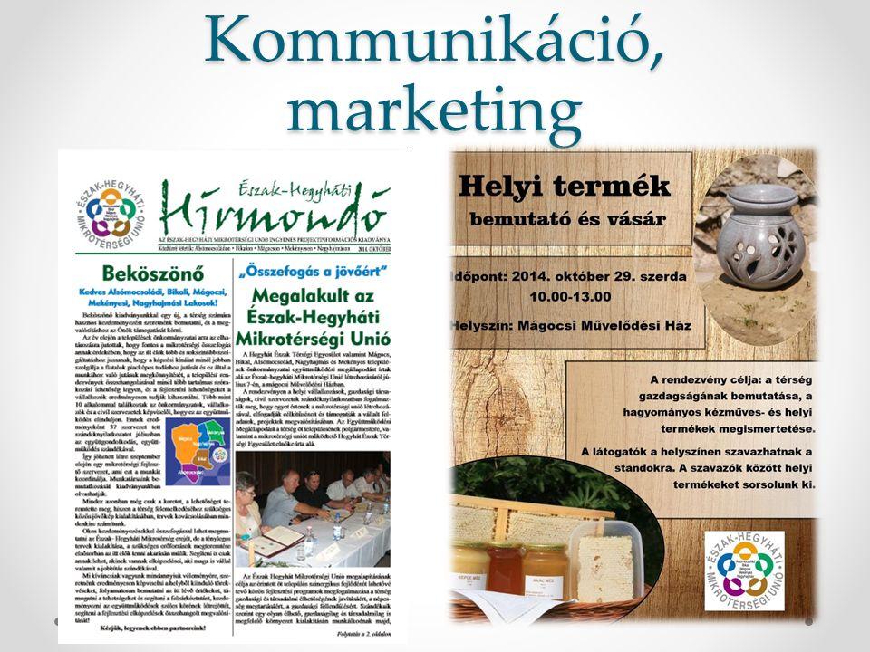 Kommunikáció, marketing